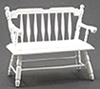 CLA10510 - Deacon Bench, White