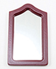 Framed Mirror, Mahogany
