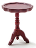 CLA10584 - Pie Crust Table, Mahogany