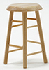 CLA10590 - Bar Stool,2 In,Oak