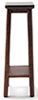 CLA10598 - Fern Stand, Large, Walnut Finish