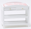 CLA10606 - Changing Table, Slatted, White