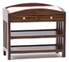 CLA10612 - Changing Table, Slatted, Walnut