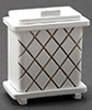CLA10667 - Clothes Hamper, White (Hh08)