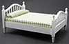CLA10755 - Double Bed, White