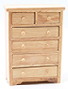 CLA10765 - Chest Of Drawers, Oak