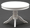 CLA10776 - Round Pedestal Table, White