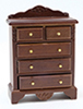 CLA10803 - Chest Of Drawers, Walnut