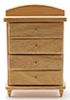 CLA10813 - Chest Of Drawers, Oak