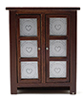 CLA10851 - Pie Safe, Walnut