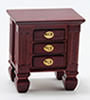 CLA10855 - Night Stand, Mahogany