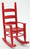CLA10902 - Rocking Chair, Red