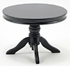CLA10927 - Round Pedestal Table, Black