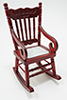 CLA10928 - Gloucester Rocking Chair, Mahogany