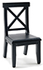 CLA10934 - Cross Buck Chair, Black