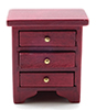 CLA10987 - Night Stand, Mahogany