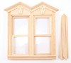 CLA71028 - Fancy Vict Working Double Window
