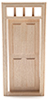 CLA86001 - 1/2 Scale 4-Panel Prehung Door