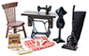 CLA91207 - Sewing Room Set/5 (Clam)