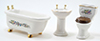 CLA91401 - Series Iv: Bath Set/3, Ceramic