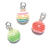 CLD2112 - Striped Ornament, 3pc