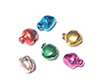 Jingle Bell Ornaments, Asst. Colors, Pkg. 6