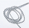 Silver Ball Garland, 1 yd.
