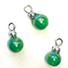 CLD227 - Emerald Ornaments, Pkg. 3