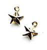 CLD230 - Gold Star Ornament, 2 pk