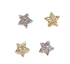 CLD306 - Gold and Silver Stars, Approx 50