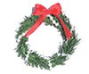 CLD602 - Christmas Wreath