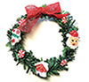 CLD6021 - Holiday Wreath