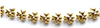 CLD619 - Gold Shamrock Garland