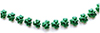 CLD620 - Green Shamrock Garland