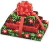 Red/Green Triple Gift w/Bow