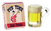 FR11164 - Pug Time Pretzel Box W/Mug Of Beer