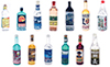 FR40871A - Liquor Bottles, Assorted 7pc