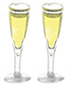 FR60006 - Glass Of Champagne, Fltd, 2