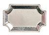FR80470 - Silver Serving Tray/1Pc