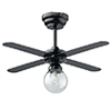 HW2384 - LED Tucker Ceiling Fan