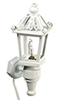 HW2580 - White Carriage Lamp