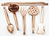 IM65055 - Copper Utensils 5Pk