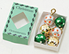 IM65128 - Christmas Ornaments In Green Box