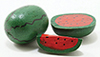 IM65183 - .Wood Watermelon, 3Pk