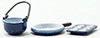 IM65193 - Spatter Cookware Set/Blue, 3/Pc