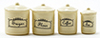 IM65259 - Canister Set, 4 Piece - Ivory
