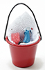IM65289 - Soap Bucket with Scrub Brush, Cleaner & Sponge