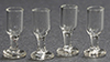 Glass Stemware, 4 pc