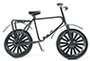 IM65364 - Black Bicycle
