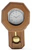IM65420 - Railroad Clock, Walnut